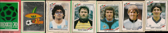 Panini Mexico 86 World Cup Sticker Album Highlights