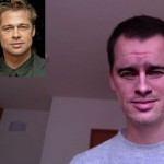 Face substitution using celebs and a webcam