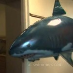I. Want. One. Air Swimmers - RC Flying Shark and Clownfish