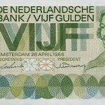 Dutch Bank note design