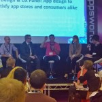Apps World 2013 - Design & UX Panel - App design to satisfy app stores and consumers alike