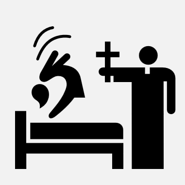 Exorcism icon from The Noun Project