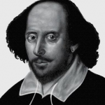 Drawing Shakespeare on a Surface Pro 3 using Fresh Paint