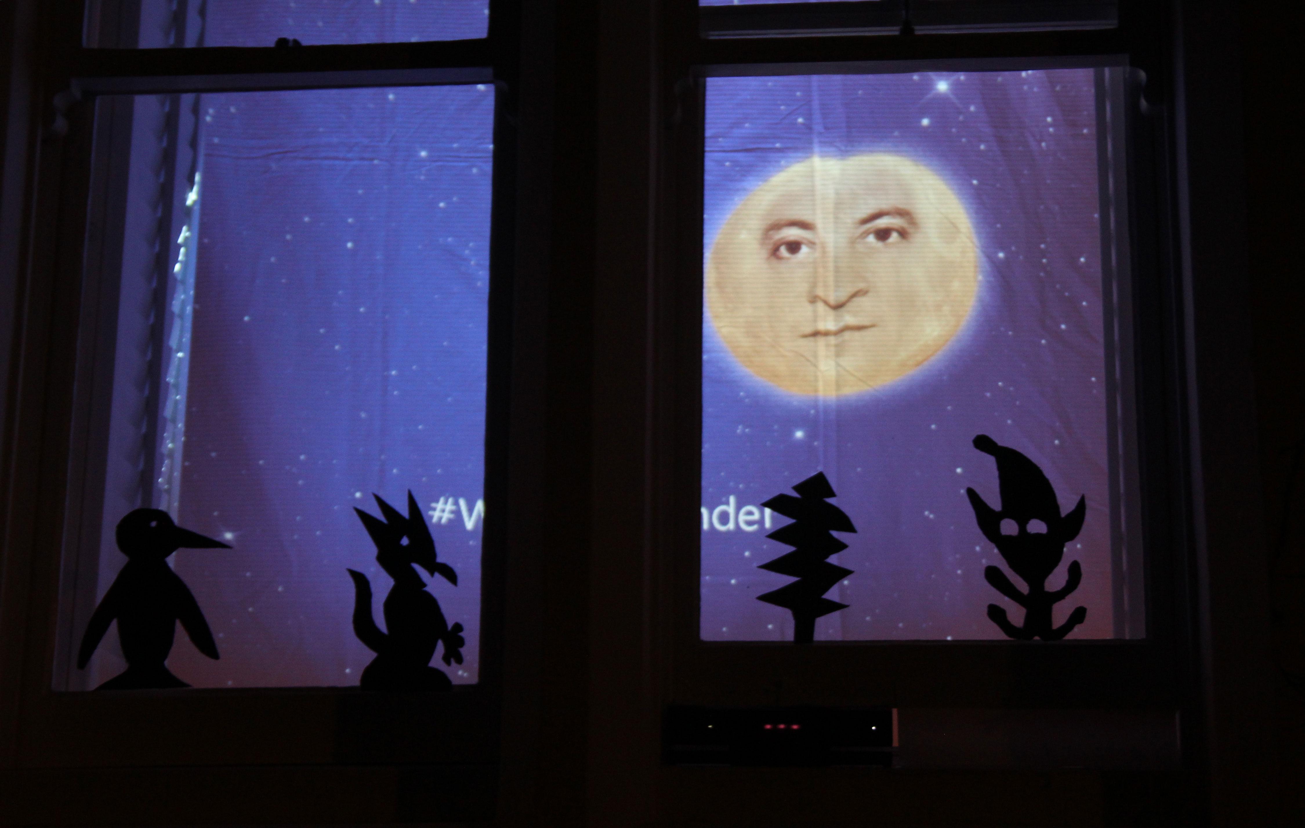 Kinect Window Wanderland in Bristol
